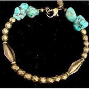 Turquoise American Eagle Bracelet